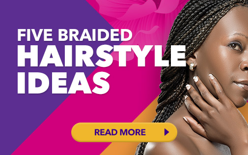 FIVE BRAIDED HAIRSTYLE IDEAS