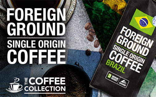 FOREIGN GROUND SINGLE ORIGIN COFFEE
