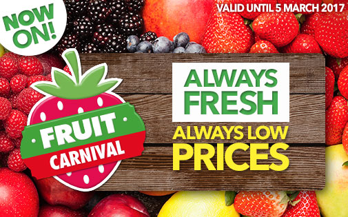 ALWAYS FRESH - ALWAYS LOW PRICES!