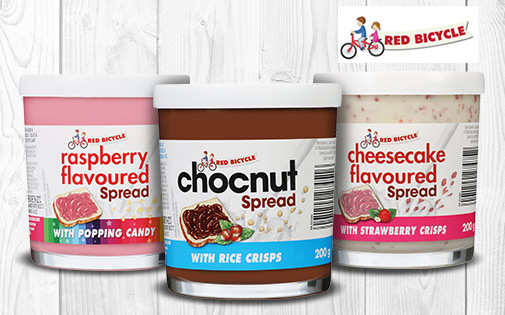RED BICYCLE SPREADS