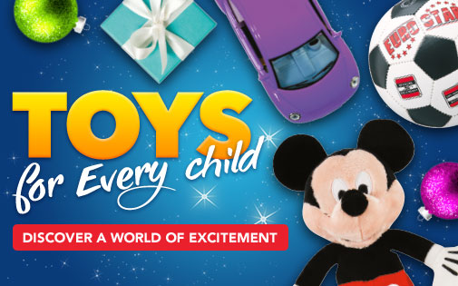 TOYS FOR EVERY CHILD