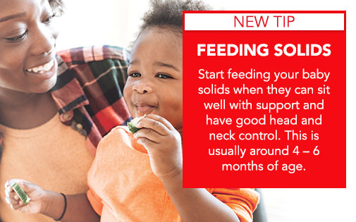 FEEDING SOLIDS