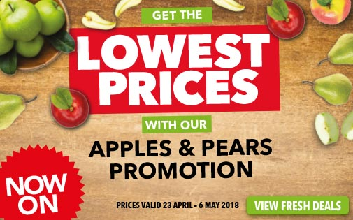 APPLES & PEARS PROMOTION