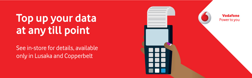 TOP UP YOUR DATA AT ANY TILL POINT