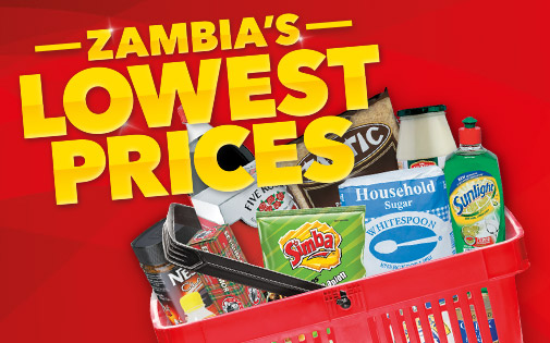 ZAMBIA'S LOWEST PRICES