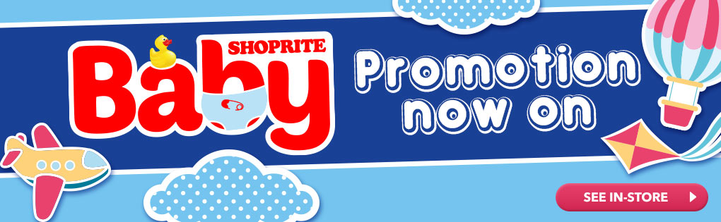 SHOPRITE BABY PROMOTION NOW ON