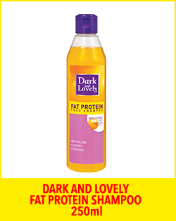 DARK AND LOVELY FAT PROTEIN SHAMPOO 250ml