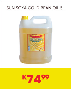 SUN SOYA GOLD BEAN OIL 5L, K74,99