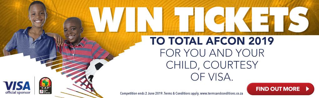 WIN TICKETS to TOTAL AFCON 2019