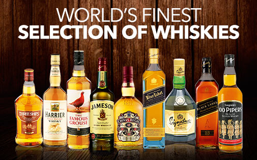 THE FINEST WHISKIES
