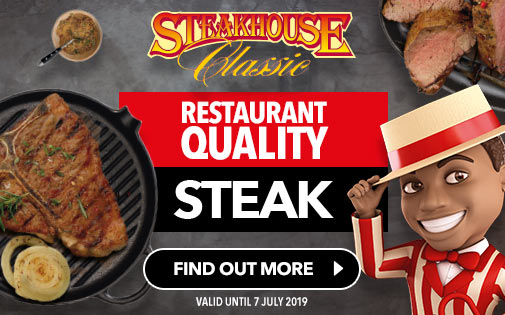 RESTAURANT QUALITY STEAK